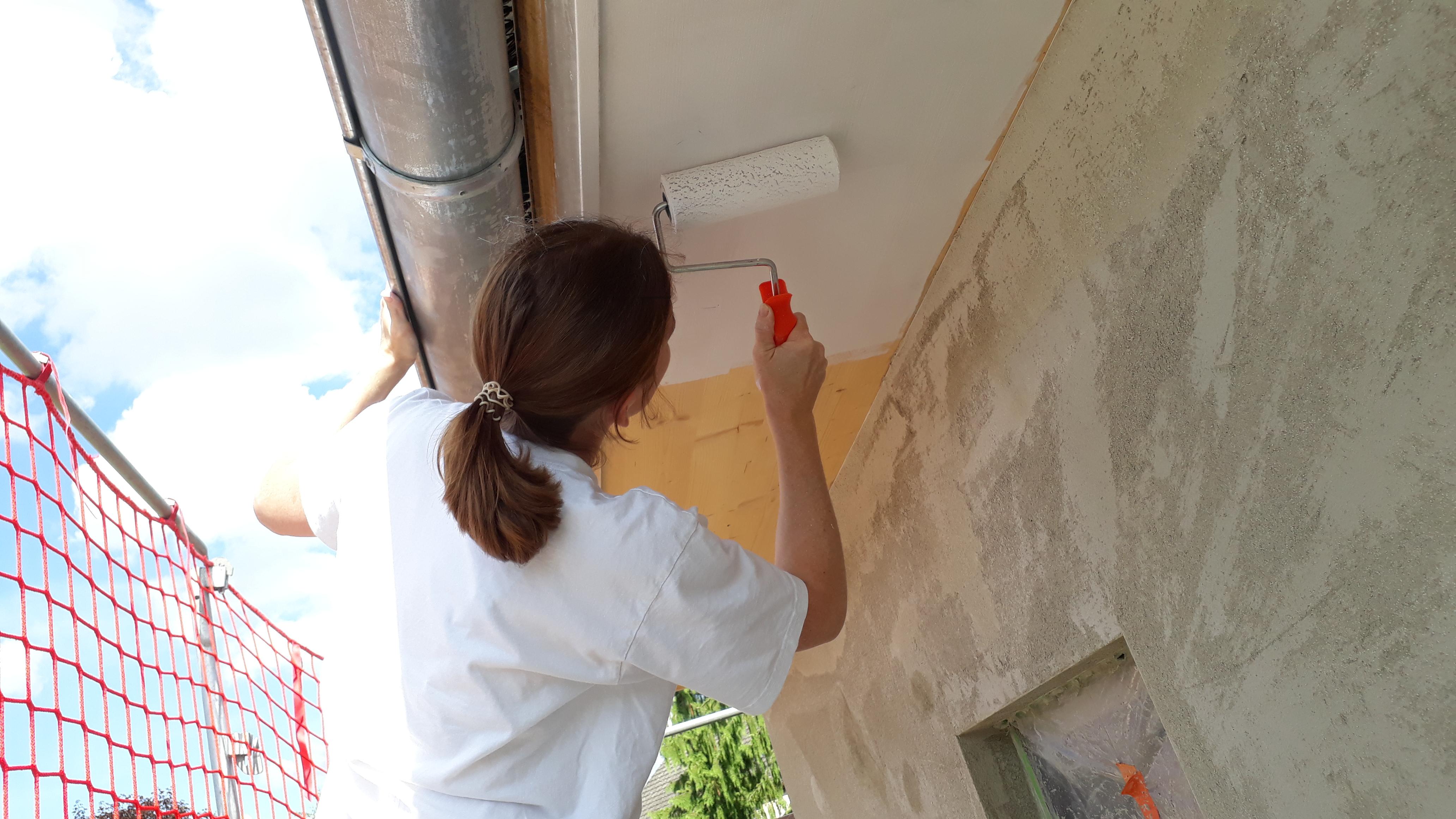 Gut gemocht Die Dachuntersicht wird weiß – Familie Bischof GS52